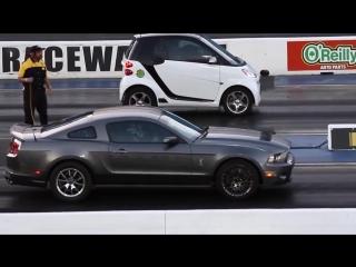 Smart vs Mustang