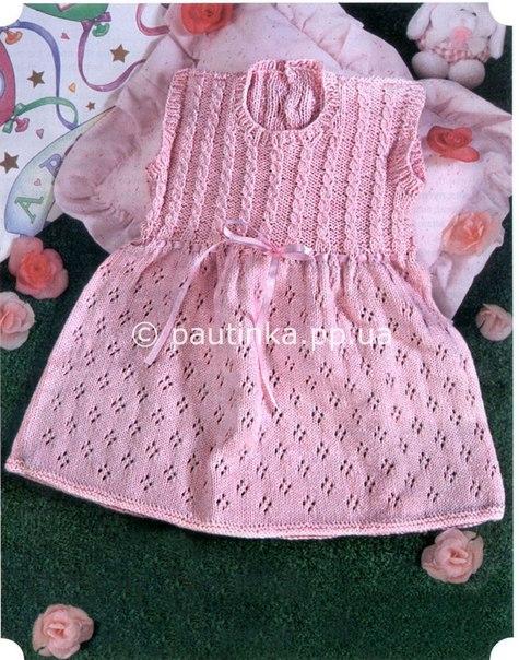 Детское платьице (2 фото)