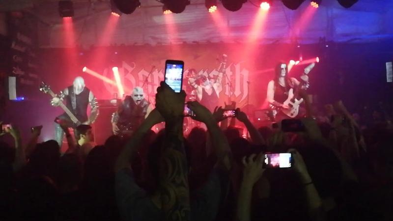 Gorgoroth - marche funebre Bergtrollets Hevn (Live Asuncion - Paraguay)