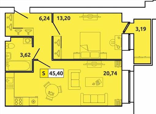 купить квартиру Индустриальная ЖК Клубный дом CLEVER (Клевер)