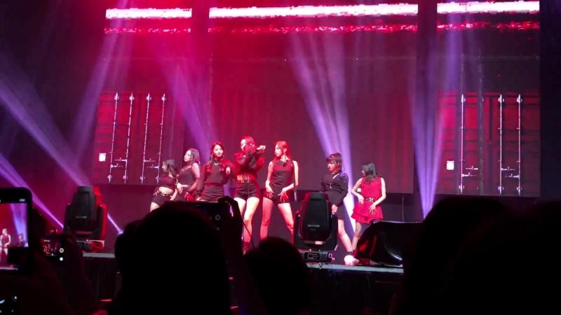 20180720 CLC Live Show in Hong Kong - Black Dress - 1. Hobgoblin 도깨비 (part)