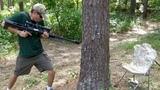 Видео Стреляем сквозь деревья. PUBG в реальной жизни Cnhtkztv crdjpm lthtdmz/ PUBG d htfkmyjq ;bpyb