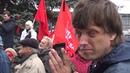 03.10.2018 года. Москва. Останкино. Панихида по убитым людям 03.10.1993 года.