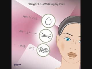 Реклама приложения Weight Loss Walking