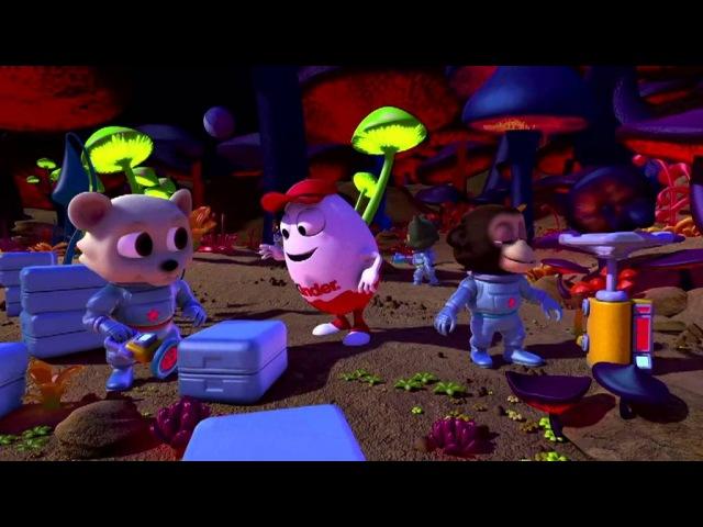 Lemon Film Studio przedstawia Kinder Niespodzinka Space Mission