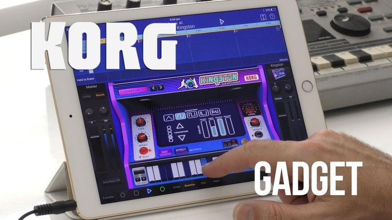 Korg Gadget A quick look at one of my favourite music apps of 2016