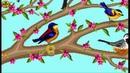 تصميم شجرة الحياة للتطریز یدوی العصافير ا