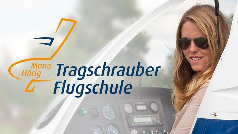 Tragschrauber Flugschule Mona Hörig – Gyrocopter Flugschule im Raum Mannheim – Rhein Neckar