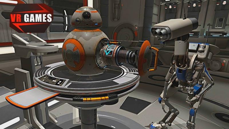 Ремонтируем дройдов на корабле генерала Леи Органы. Star Wars Droid Repair Bay прохождение