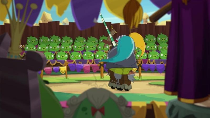 《愤怒的小鸟》第二季第十六集 炸弹黑爵士 Angry Birds Toons Session 2 EP16 Sir Bomb of Hamelot