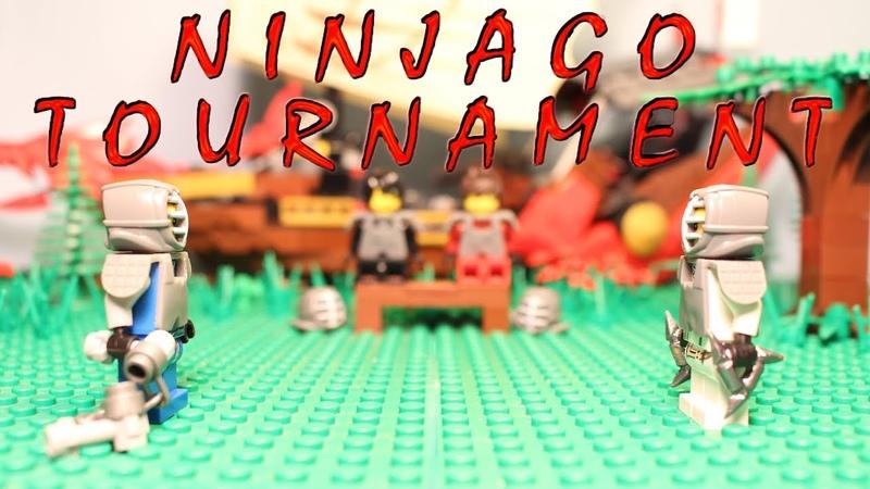 Lego Ninjago Stop Motion Tournament Training