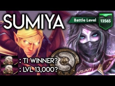 Sumiya Invoker God vs 13,000 LVL Battle Pass TI2 Winner (iG.YYF) Dota 2