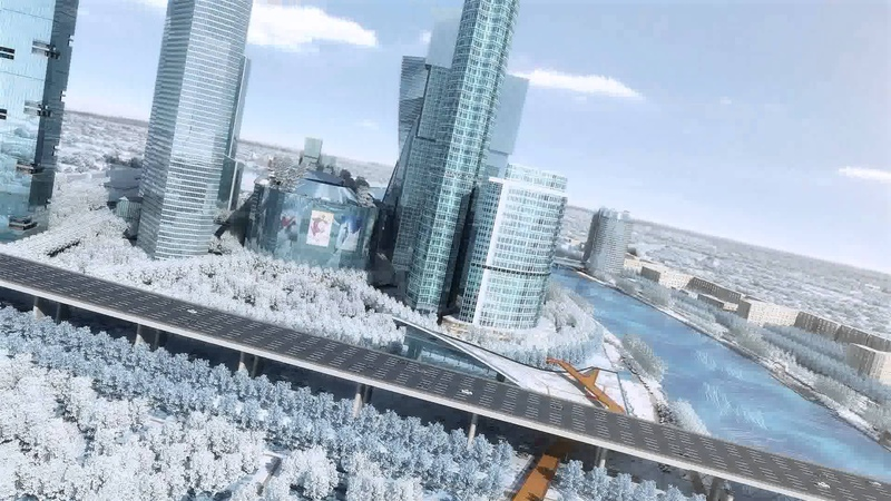 Turenscape . Hазвитие набережных Москвы-реки
