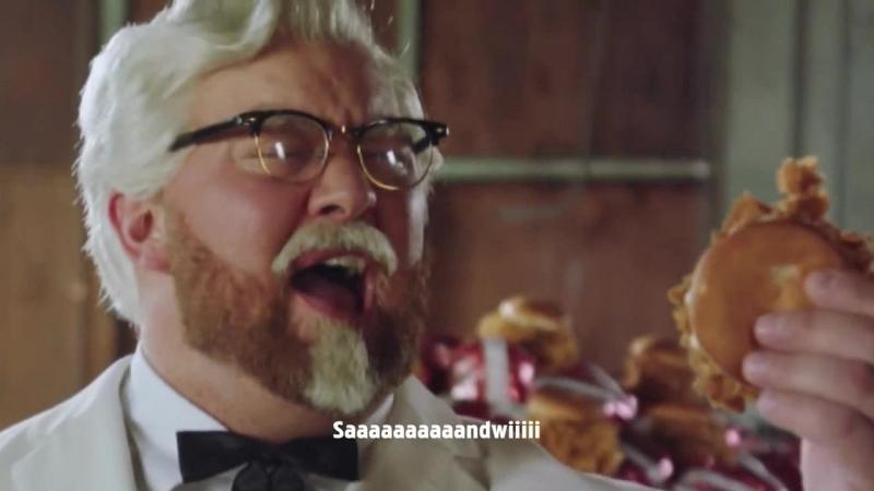 Звезда Игры престолов Хафтор Бьёрнсон в роли полковника Сандерса - KFC