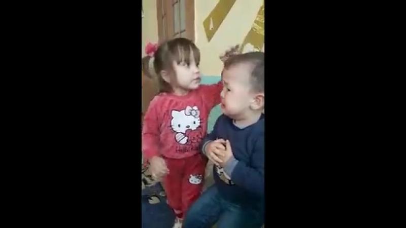 Я тебя зацелую! ))