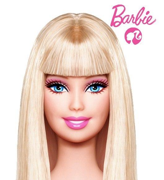 Мода и красота.  Считаешь себя некрасивой.  Посмотри на Барби без косметики.