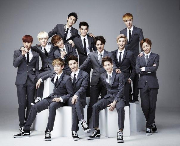 картинки группы exo