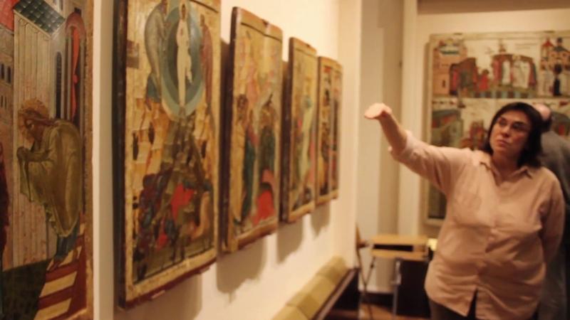 НГОМЗ Лекция Ю Комаровой Сюжеты и стилистика новгородских икон XIV XVII
