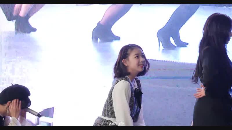 [4K 60P] 181117 버스터즈(Busters) 채연(ChaeYeon) - 포도포도해(Grapes) @ DDP 패밀리 페스타 직캠(Fancam) by CY_041204