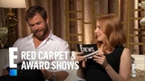 Chris Hemsworth &amp Jessica Chastain Interview Each Other E! Red Carpet &amp Award Shows