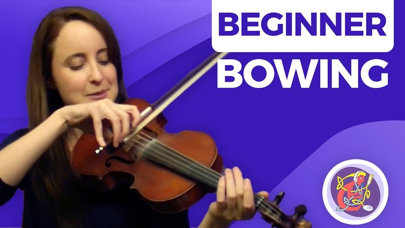 Irish Fiddle Lesson - [The Basics] Bowing Your Fiddle
