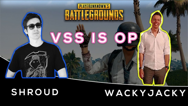 WackyJacky or Shroud Vss is OVER POWER | PUBG Guide Pro Player | PUBG Highlights