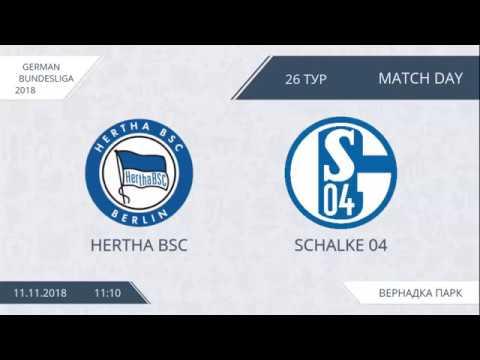 AFL18. Germany. Bundesliga. Day 26. Hertha BSC - Schalke 04