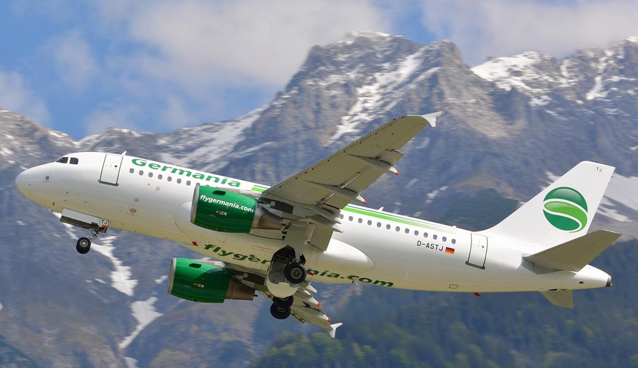 Маневрирование самолета в горной местности