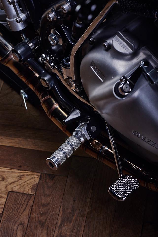 Ventus Garage: стрит-трекер Suzuki GN400