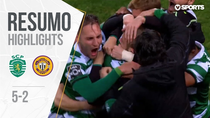Highlights | Resumo Sporting 5-2 Nacional (Liga 1819 13)