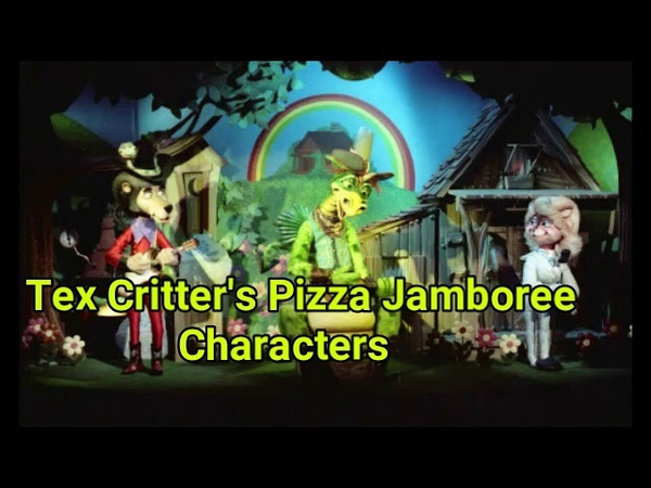 Tex Critters Pizza Jamboree Characters(My Project) (Rock-Afire Explosion)
