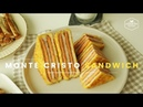 단면이 예쁜♥ 몬테크리스토 샌드위치 만들기 How to make Monte Cristo Sandwich モンテクリスト 124