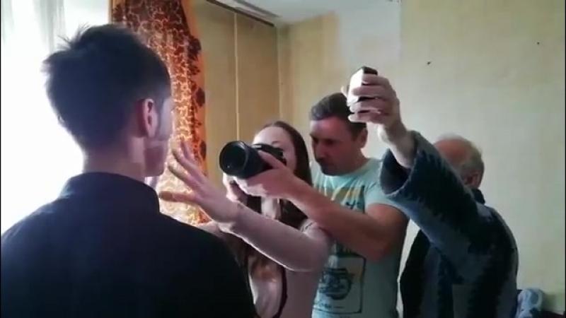Съёмка короткометражного любительского фильма Зеркала смотреть онлайн без регистрации