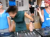 Чумавая девушка DJ Beauty (Казантип)