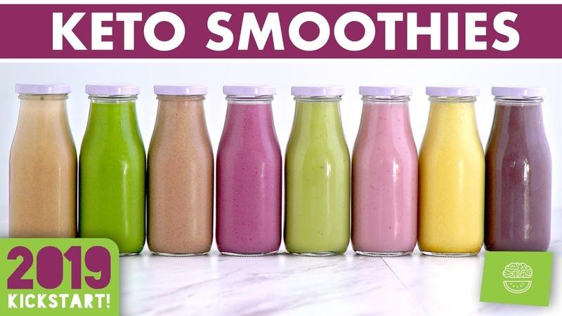 Low Carb Smoothies!! Keto Smoothie Recipes! kickstart2019