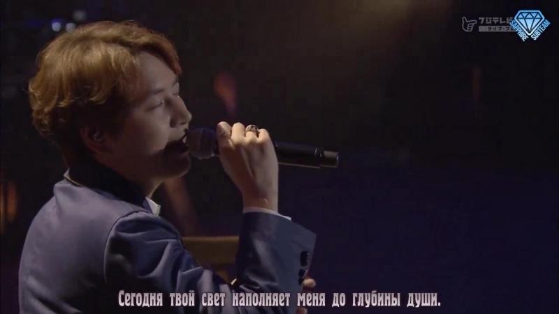 규현 (KYUHYUN) - 밀리언조각 (A Million Pieces) (Fuji Next SUPER JUNIOR-KYUHYUN JAPAN TOUR 2016 ~Knick Knack~) (рус.саб)