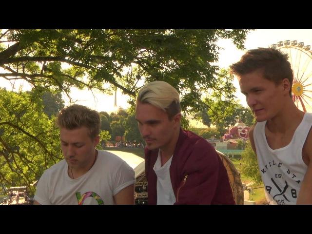 KILLERPILZE im Interview am Theatron Sommerfestival - 21.08.13