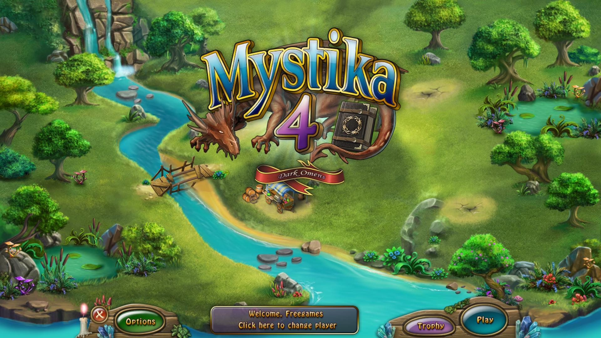 Мистика 4: Темные предзнаменования | Mystika 4: Dark Omens (En)