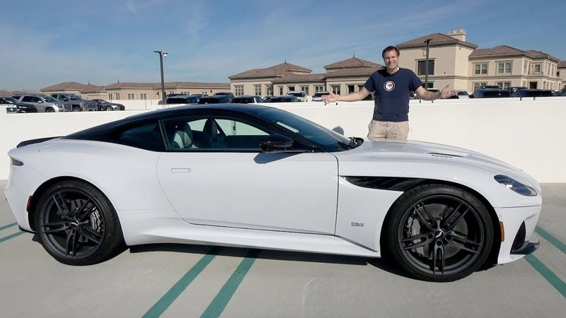 Aston Martin DBS Superleggera это флагманская модель Aston за $350 000