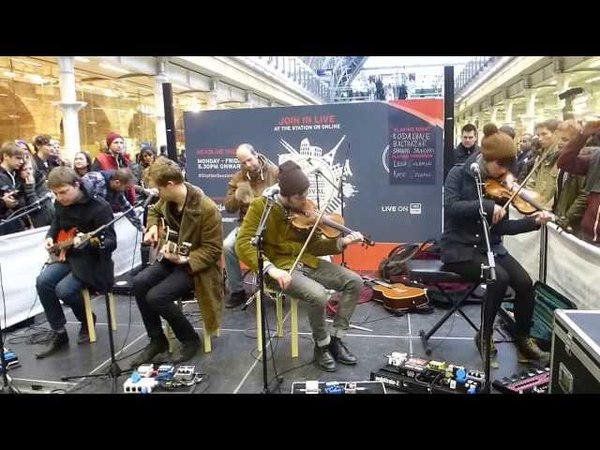 BALTHAZAR''ANY SUGGESTION'' LIVE @ ST PANCRAS STATION LONDON