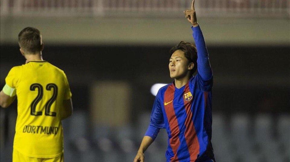 """""""Barca""""ning 18 yoshli futbolchiai Li Sin """"Verona""""ga o`tadi"""