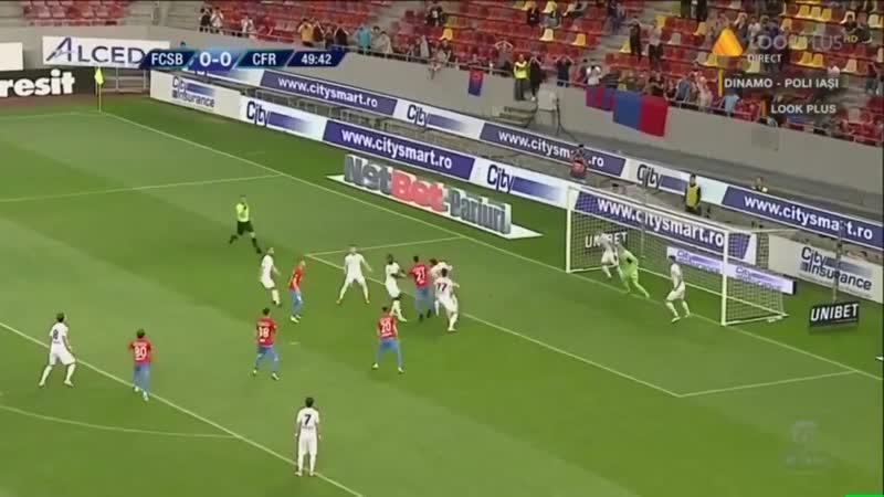 Rezumat FCSB - CFR 1-0, gol fabulos Teixeira - Etapa 10 Play Off Sezon 2018-2019
