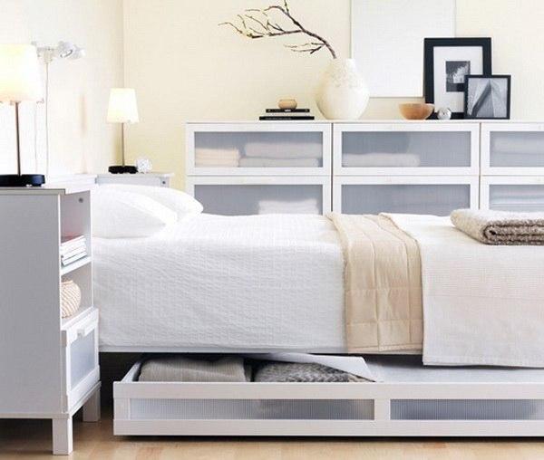 Как сэкономить пространство в спальне (5 фото) - картинка