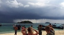 Rare quadruple waterspout spotted on remote island in Thailand