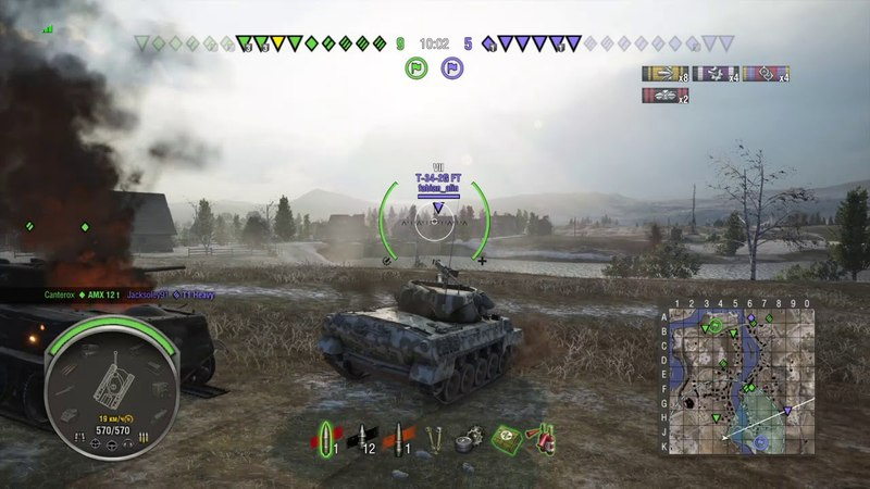 World of Tanks PS4 M18 Hellcat Крыса Мастер