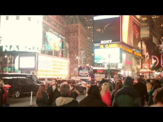 Привет, мы казахи в Нью-Йорке ( Тайм Сквер -2013 ) Rart 1