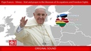 Pope Francis Vilnius Visit and Prayer at the Museum of Occupations and Freedom Fights 23092018