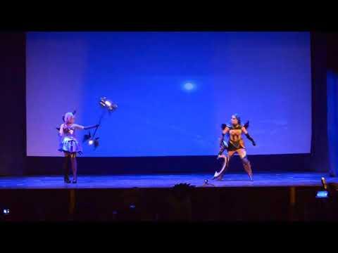 Frozen Mare, Fire Ari (SHAWARMA, г. Пенза) - Diana, Lux (League оf Legends) [AJISAI 2018]