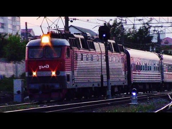 Отправление фирменного поезда Мордовия