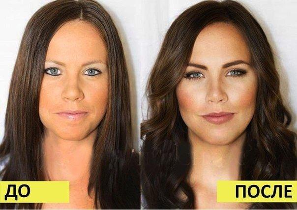 как правильно наносить макияж в картинках все шаги